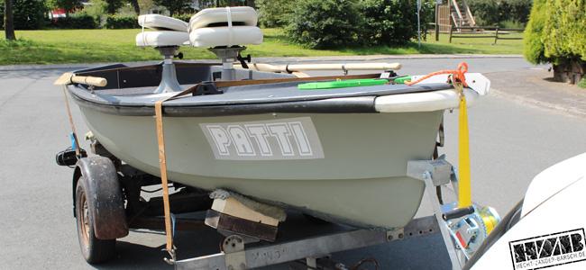 alte gfk sportboote